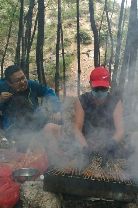 五一长假双乳湖自驾野营烧烤