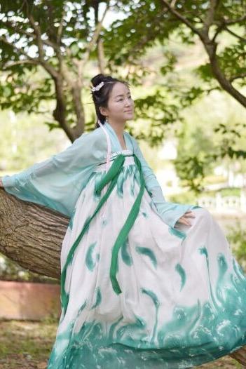 容县绣江公园汉服宣传和人像外拍活动