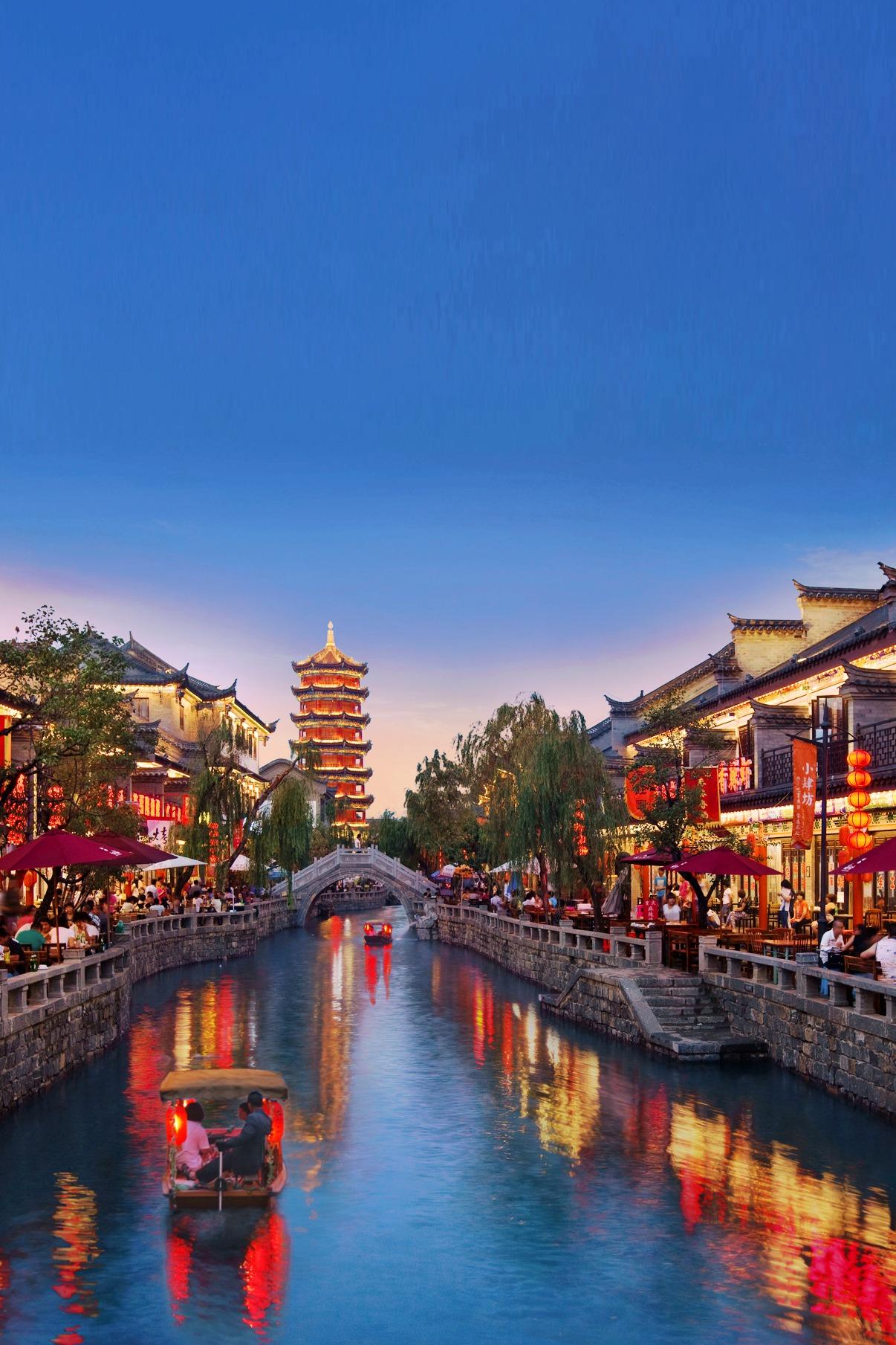 去北方江南水乡·比丽江更美的古城·滦州古城送船票