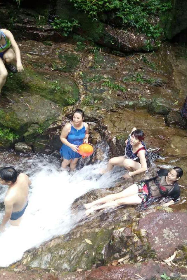 9月24-25日,挺进铜鼓冲溯溪摄影露营速降泡水