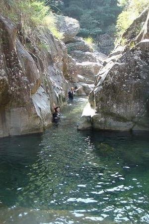 7月26日溯溪第二波中国水质最好的溯溪线路之仙居丽人谷