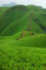 武功山重装沈子村穿红岩谷