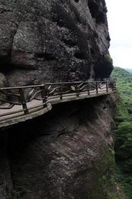 平远天道五指石观世界最大卧佛相思谷瀑布
