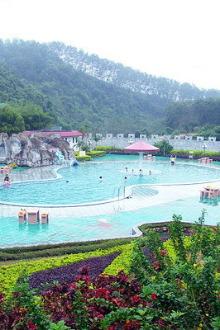 3月14日,九乐宫温泉度假山庄游山玩水、泡温泉、聚餐