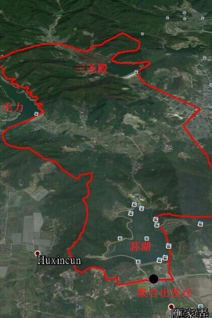 10月25日环江北荪湖毛力三圣殿水库徒步行