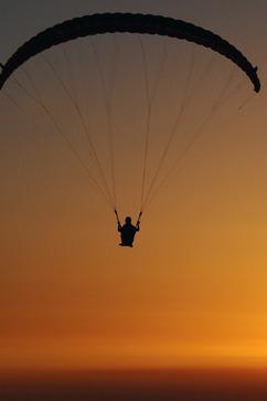 3月5号仁寿满井滑翔伞一日游