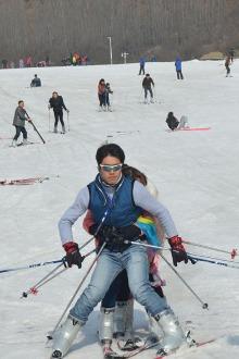 1月25本周日。猿人山滑雪,A费120元