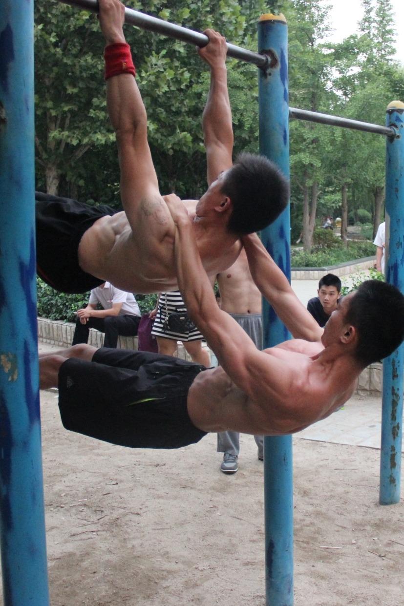 淄博街头健身交流聚会3期