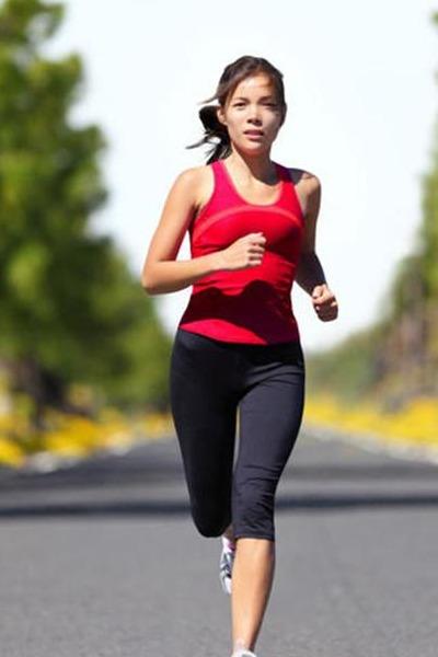 环山路慢跑(第24次体能拉练)