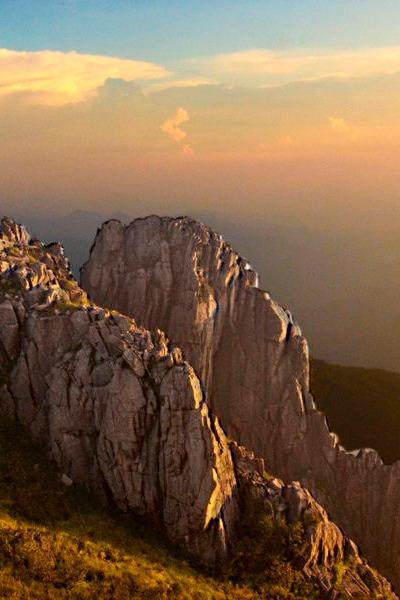 5月14-15日重装登顶清凉峰,铁驴征途