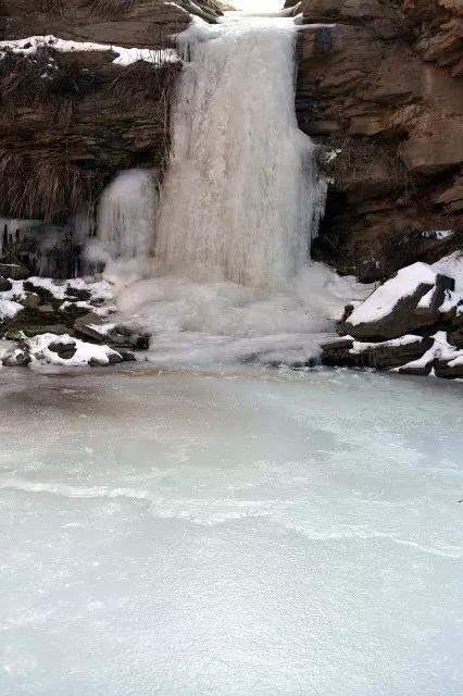 挑战自我、踏雪徒步池沟(大约18公里)一日游