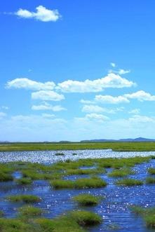 寻找梦中的草原,热尔大坝的明珠—端午若尔盖花湖