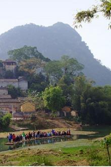 1.18周日我们一起去有小桂林之称的英西峰林走走吧!