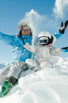 滑雪,戏雪