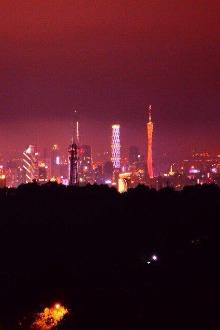 6.26周五夜登白云山