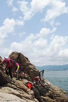 9月4日南澳最美海岸线七星湾-桔钓沙徒步穿越