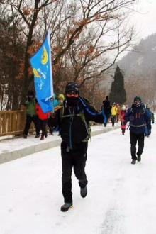 1月24号憨豆户外石门山休闲溜山