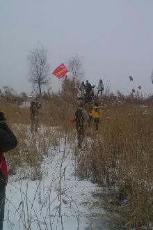 2月1日徒步老顶山赏雪景