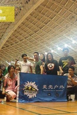 广州体育馆羽毛球活动