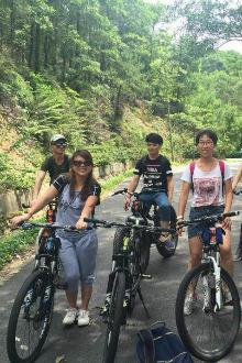 7月4日自行车之旅番禺大夫山森林公园一天游