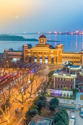 摄影旅行——休闲徒步南京最美滨江风光带