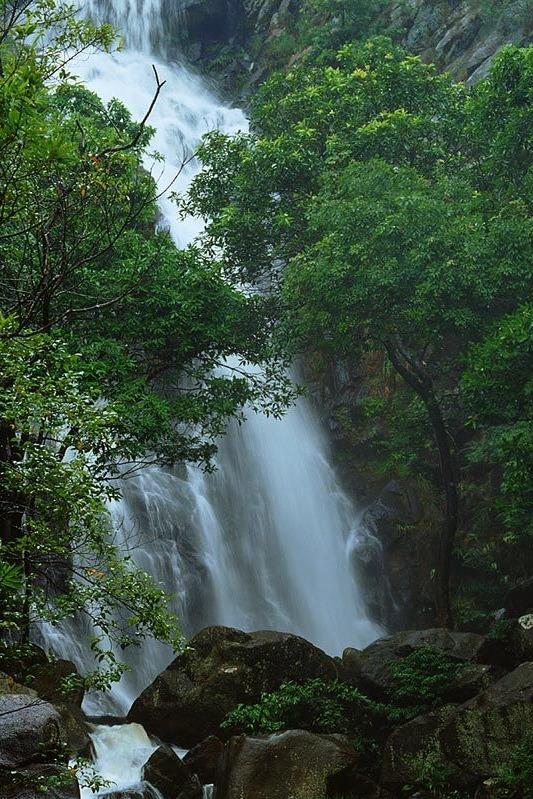 7月5日(星期天)马峦山溪流戏水,看瀑布美景