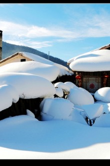 2015哈尔滨-东升穿越-雪乡-长白山-雾凇岛赏雪7日活动
