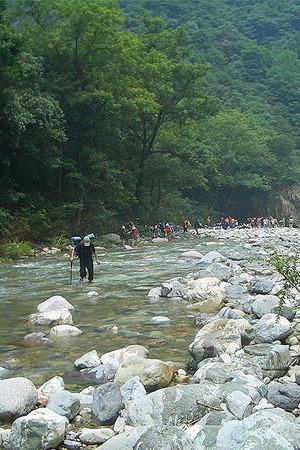 乐逍遥户外】2015-8-2:浙东大峡谷(清水溪)