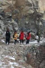 徒步石膏山