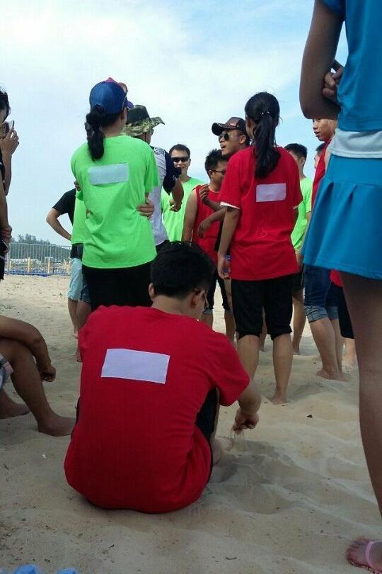 北山湾沙滩撕名牌—湫逸群!本周日下午3点!