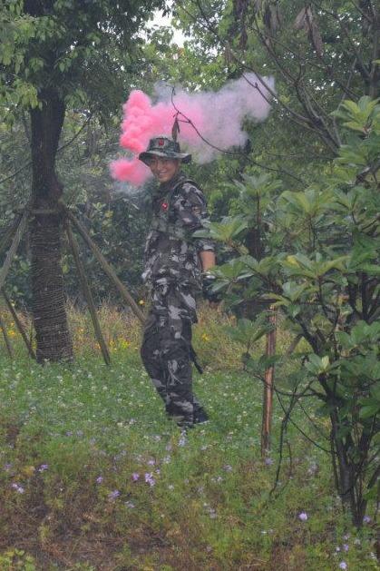 9月24号户外三里桥生态园真人CS对抗战之翻手为云
