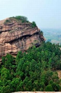 (周日11月15日)登马头石赏丹霞景观