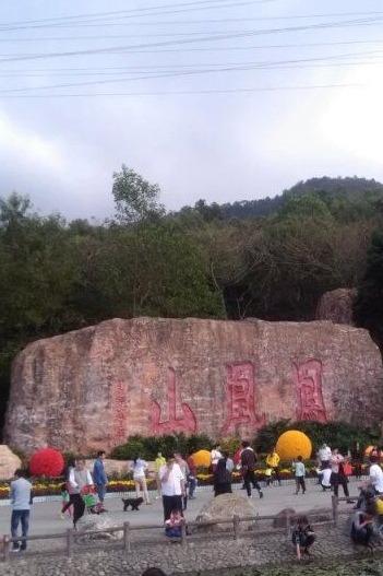 雷州帅哥美女相约深圳凤凰山森林公园一天游
