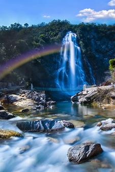 22日-24日狼牙谷-龙井峡穿越-大别山彩虹瀑布