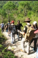 徒步爬山与野营