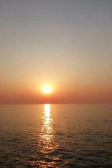 小平岛看日出