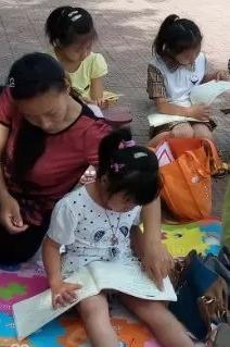 燕郊育心经典明德之家第四十三期户外亲子读书会