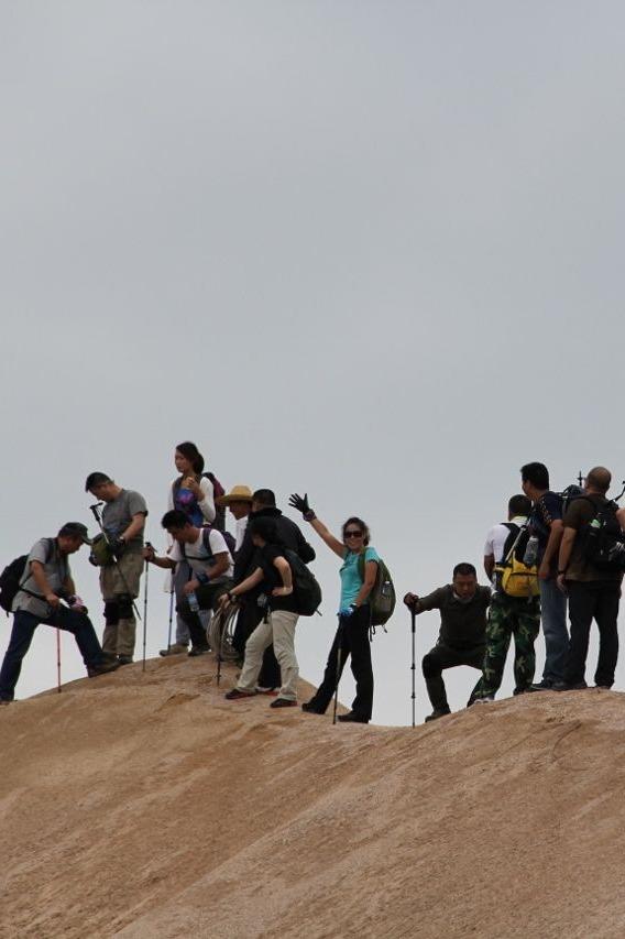探寻大清龙脉,山脊上的舞蹈—登顶龙须山8月7日-9日