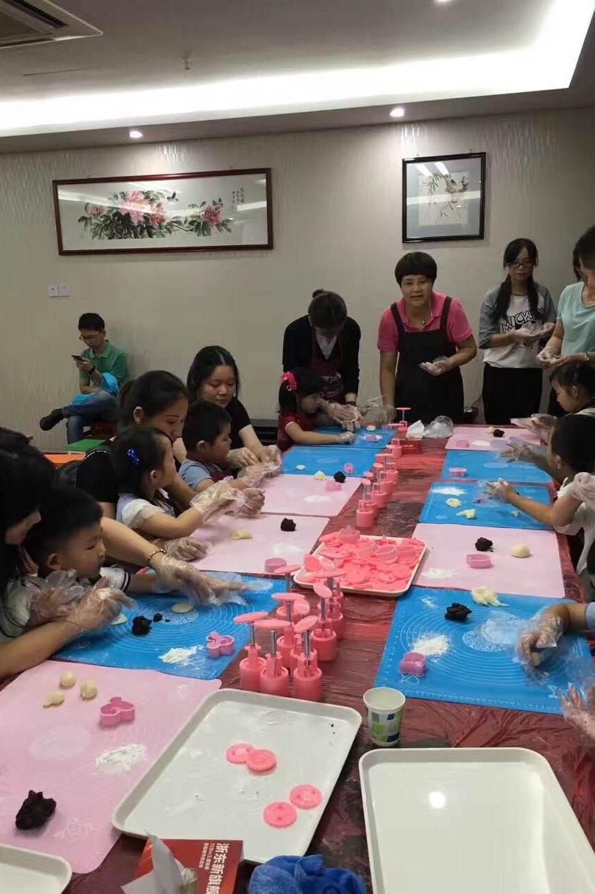 9.17亲子月饼DIY