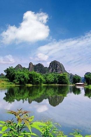 10月18日徒步广东小桂林 英西峰林 、赏梦幻山水田园风光