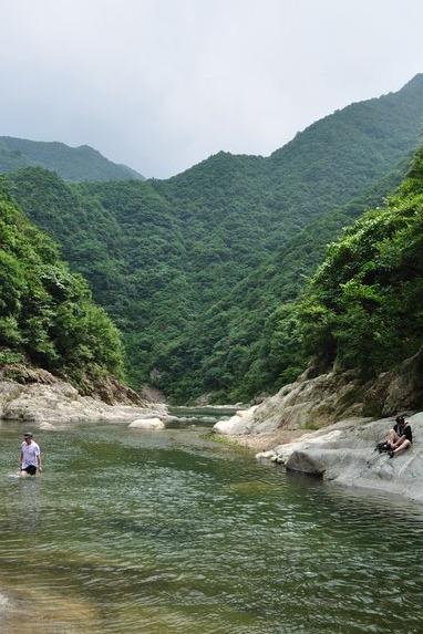 森林公园—清水溪—逐步,欢乐嬉戏水中涧