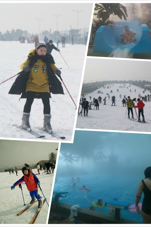 【山东沂水】滑雪+【瑞海国际】温泉一日游,约吗!