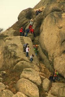 3月14日,大顶山徒步穿越一日游