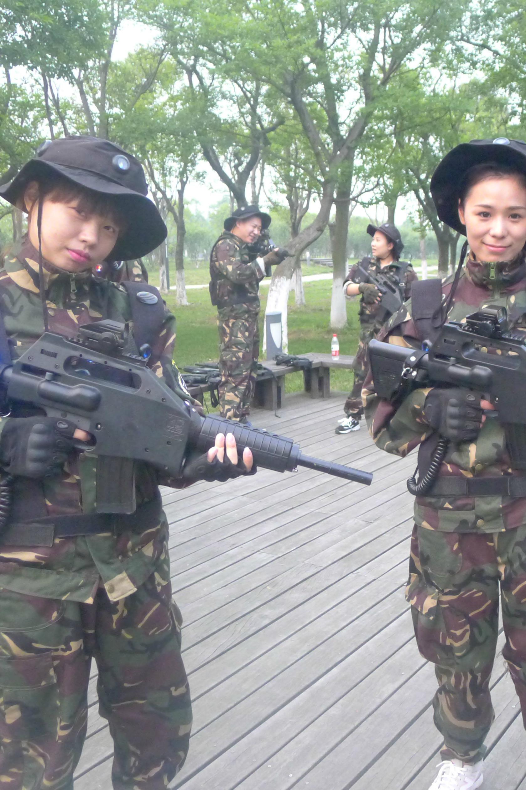 5月1日微兵户外真人CS之异类觉醒(清缴变异者)