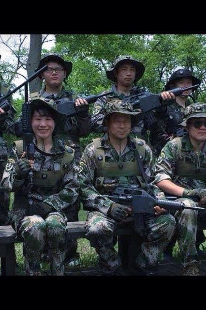 微兵联盟真人CS新兵训练战