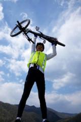 排调方向想骑自行车回家的报名了