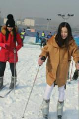 浮来青滑雪开始啦!