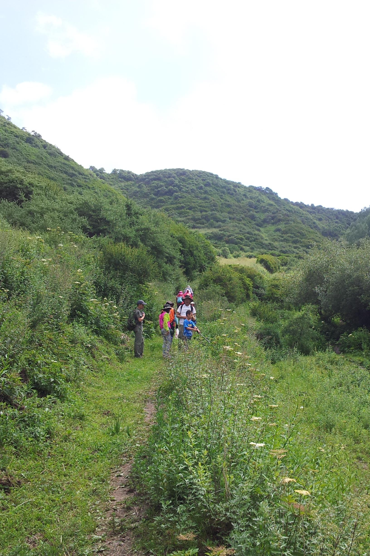 窑沟穿越石骨岔(13公里)