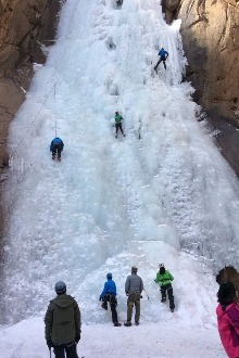 秦皇岛花厂峪攀冰体验一日游