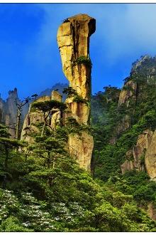 清明假期重装徒步三清山观上帝的盆景三清宫门口露营